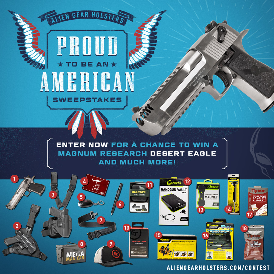 Alien Gear Holsters Gun Contest and Giveaways