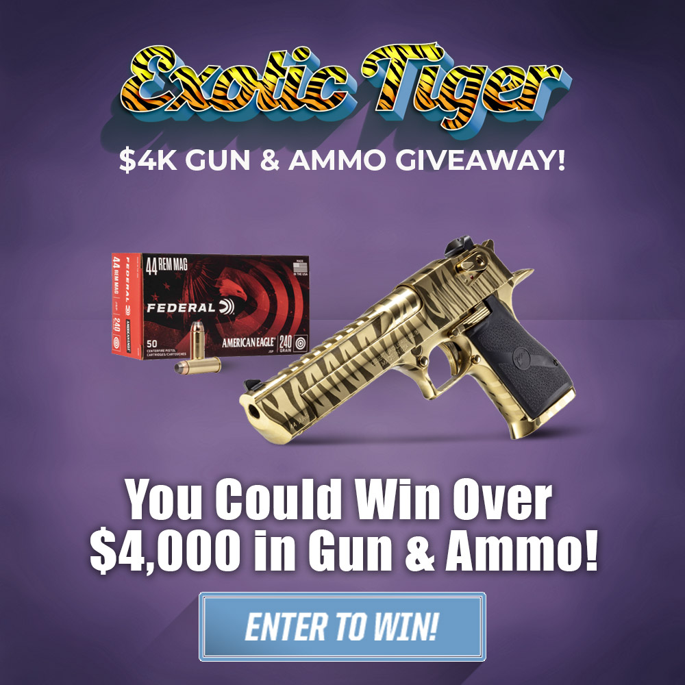 Exotic Tiger $4K Gun & Ammo Giveaway!