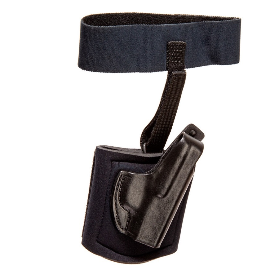 G&G Ankle Holster With Garter, CW380/P380, Right Hand