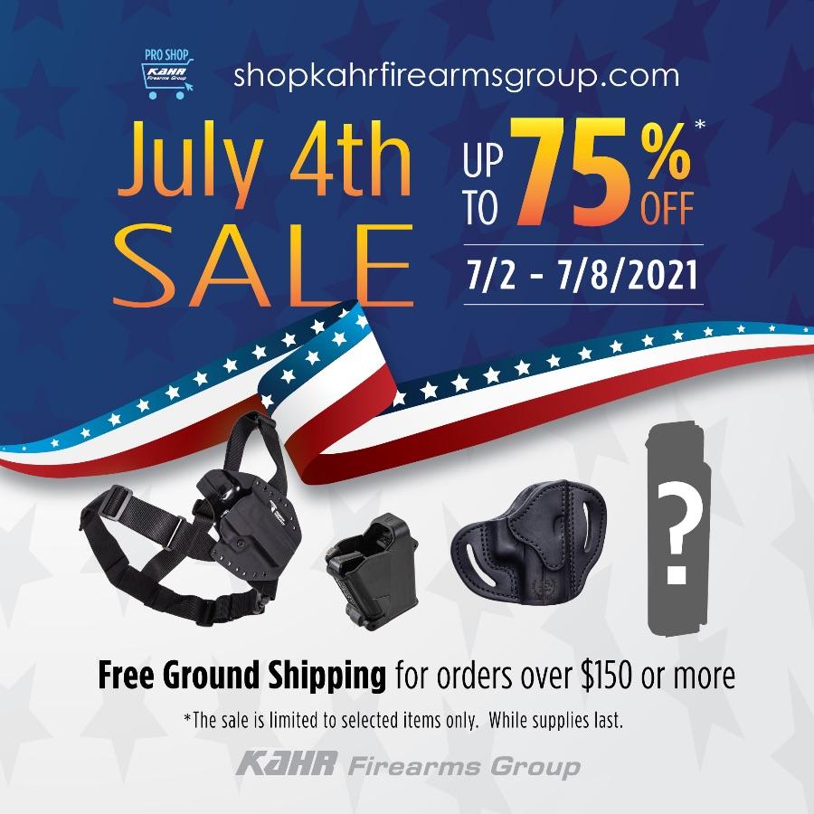 Kahr Firearms Group July 4th SALE 2021!!