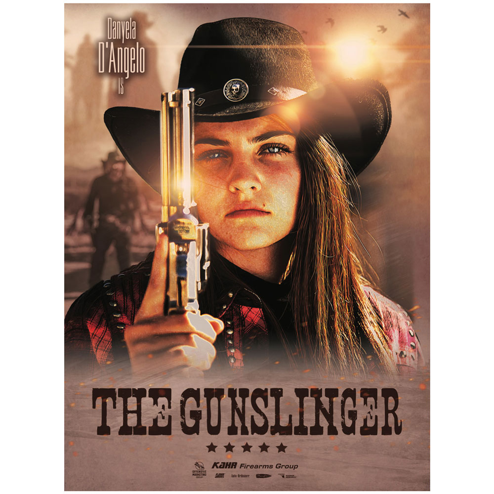 The Gunslinger Danyela Poster