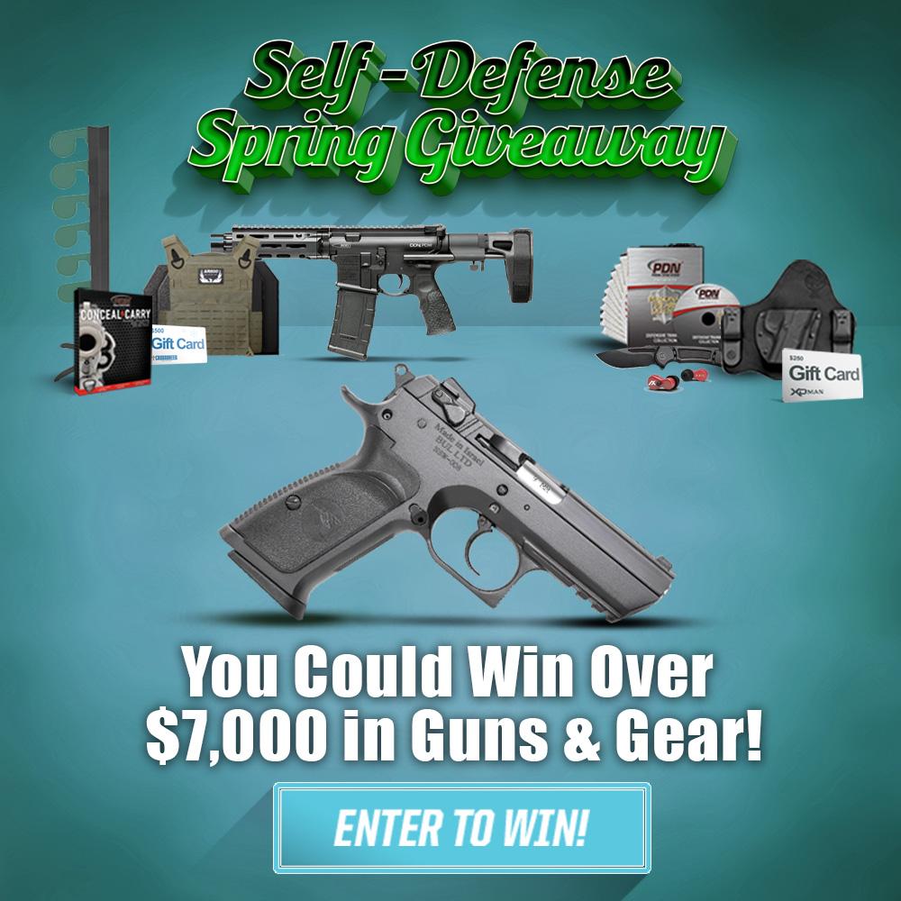 Self-Defense Spring Giveaway!