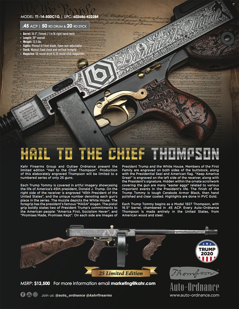 Hail to the Chief Thompson Flyer
