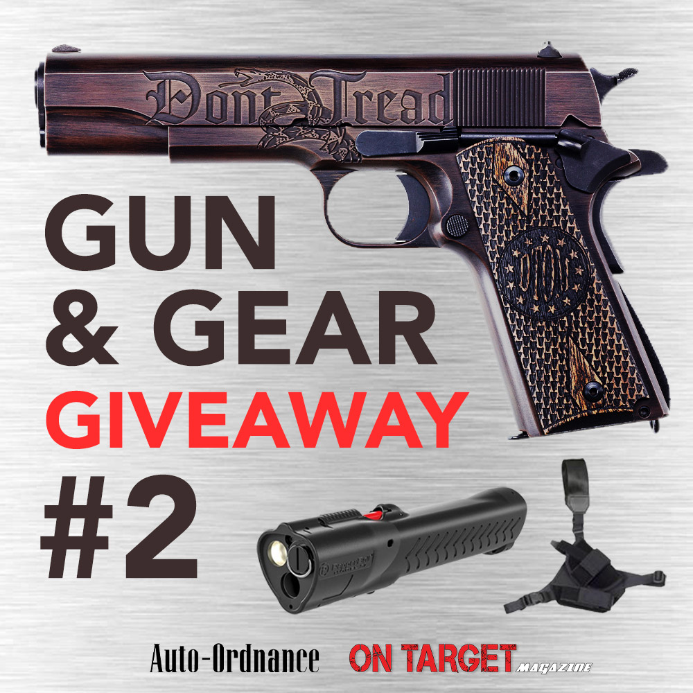 2 Days Left! On Target Magazine - Gun & Gear Giveaway #2!