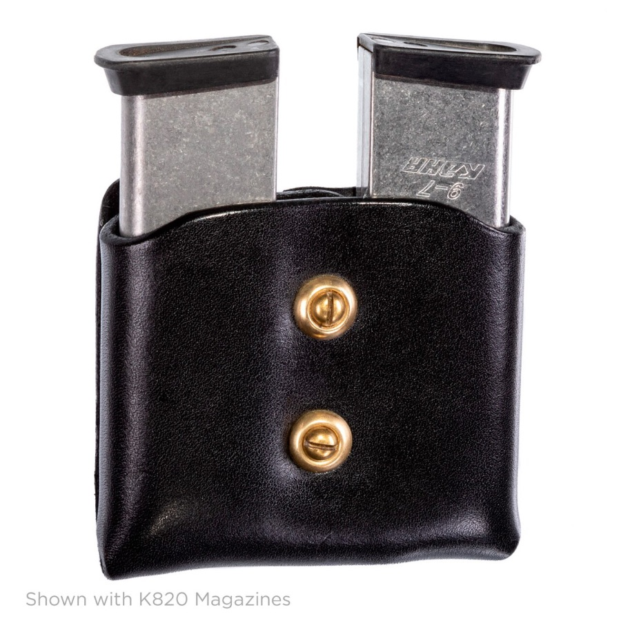 Mitch Rosen Double Magazine Carrier Black