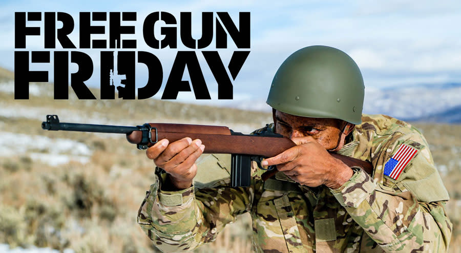 FREE GUN FRIDAY: Win an M1 Carbine From Auto-Ordnance!