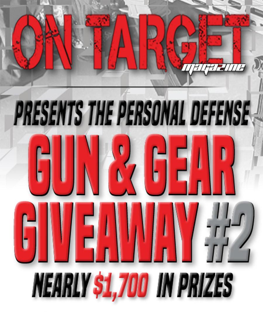 On Target Gun & Gear Giveaway #2