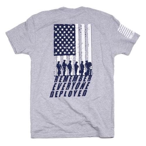 MRI Remember Everyone Deployed(R.E.D.) Men's T-Shirt