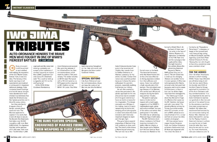 Tactical Life |  Iwo Jima Tributes