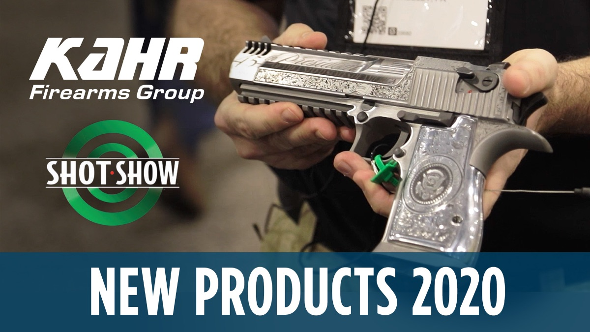 SHOT Show 2020: Kahr Firearms Group Brand NEW Exclusives!