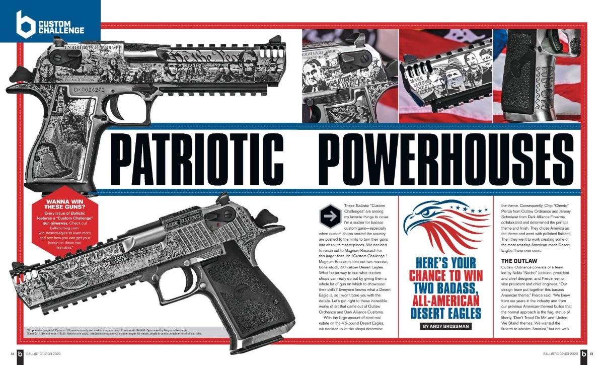 Patriotic Powerhouses