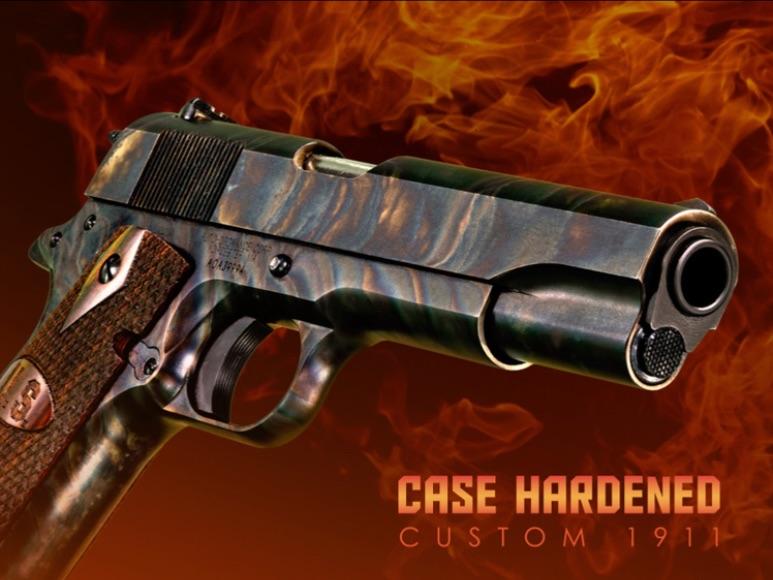 Case Hardened Custom 1911