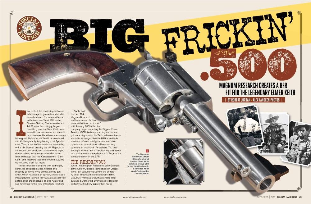 Personal Defense World | Big Frickin' .500