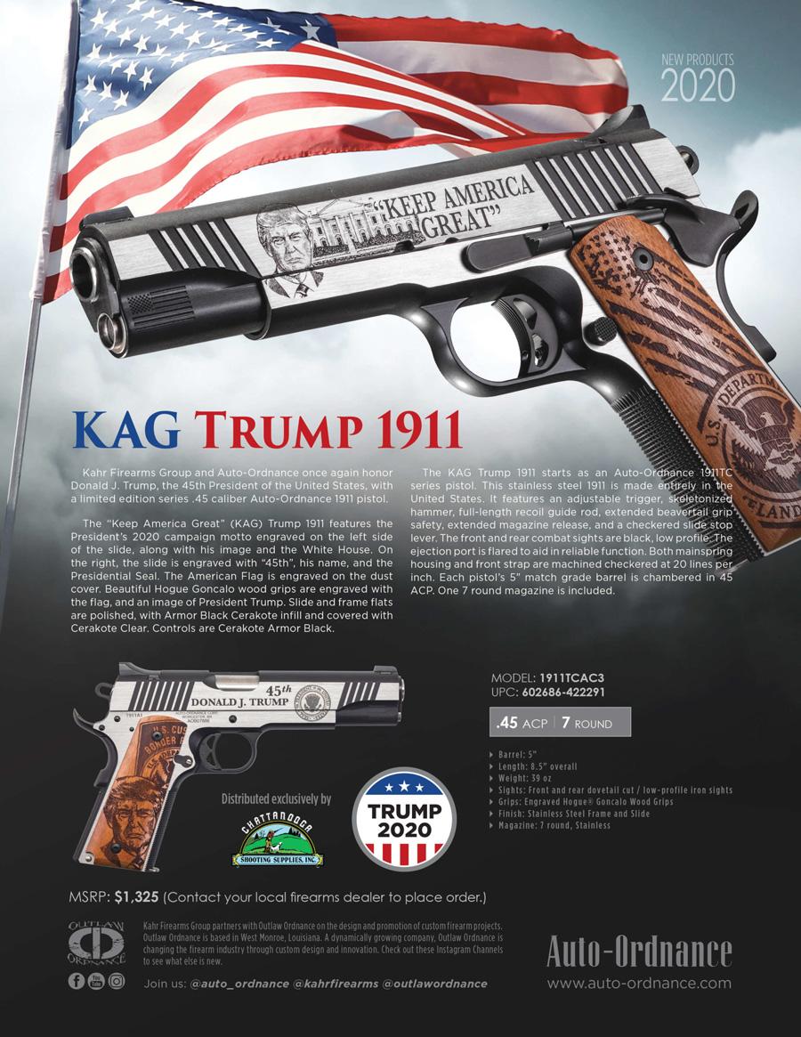 Auto-Ordnance KAG Trump 1911