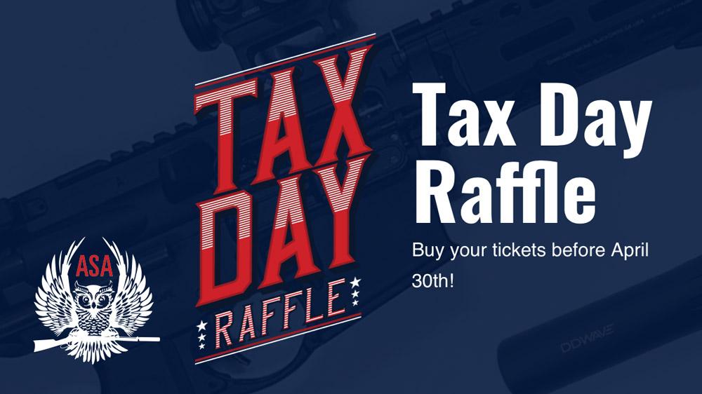 ASA Tax Day Raffle