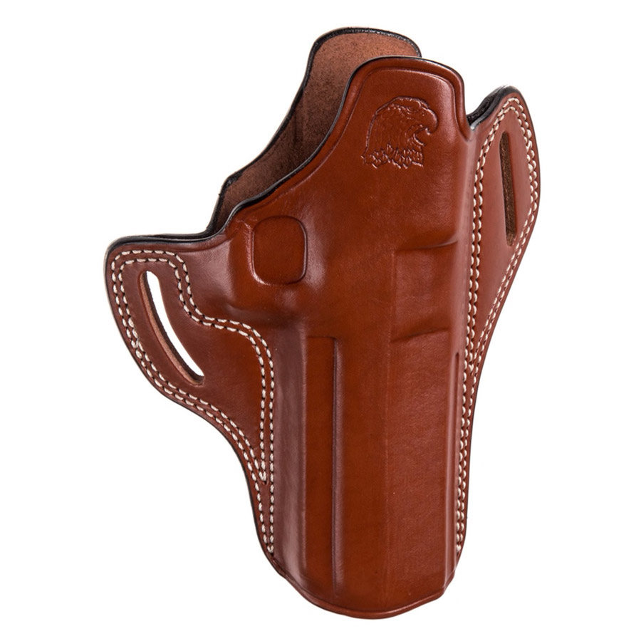 Desert Eagle w/ Rail Pancake Holster, Right Hand, Brown