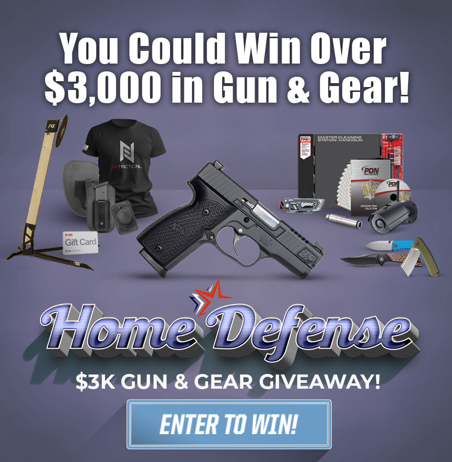 HOME DEFENSE $3K GUN & GEAR GIVEAWAY!!