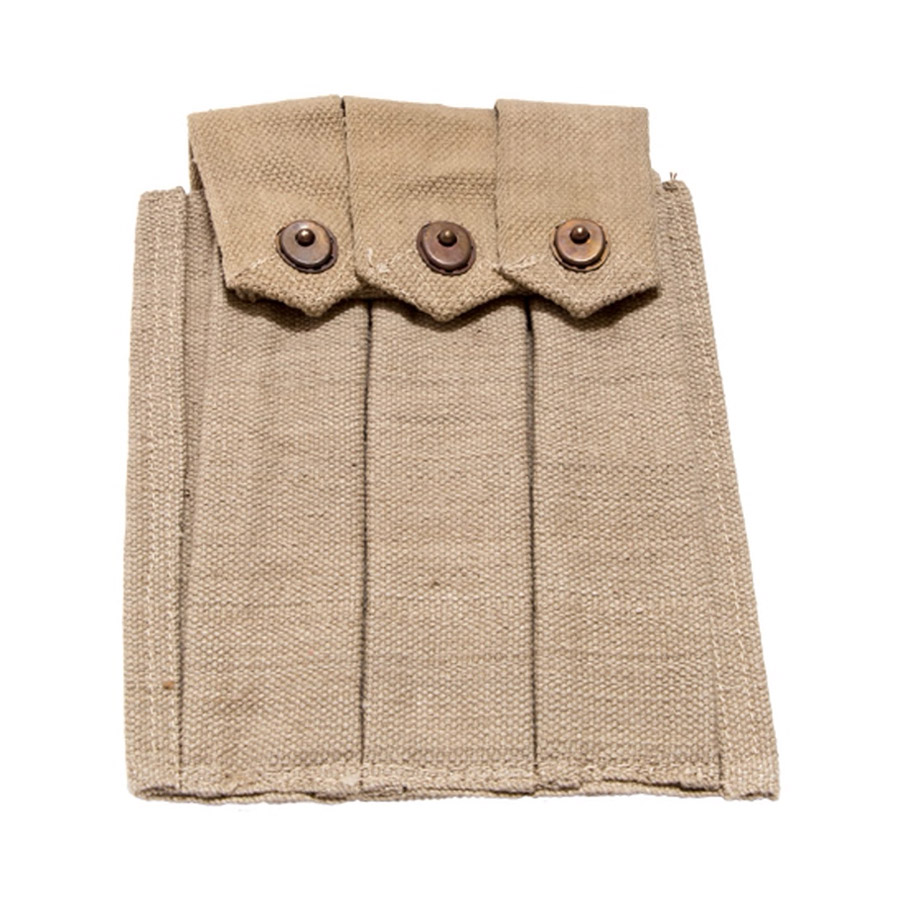 WWII 3 Mag Pouch Carrier