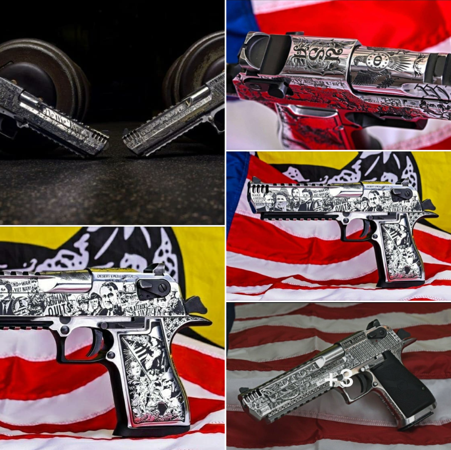 The winners of the Desert Eagle Challenge giveaway