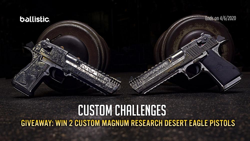 Custom DE Giveaway!
