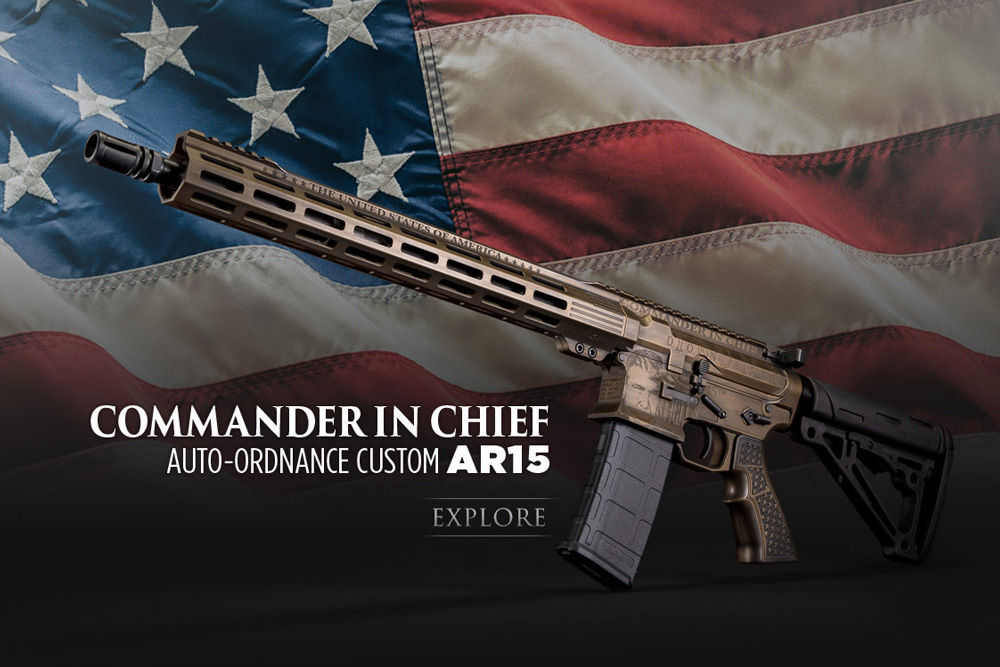 Auto-Ordnance Reveals the New 2021 Trump AR15!
