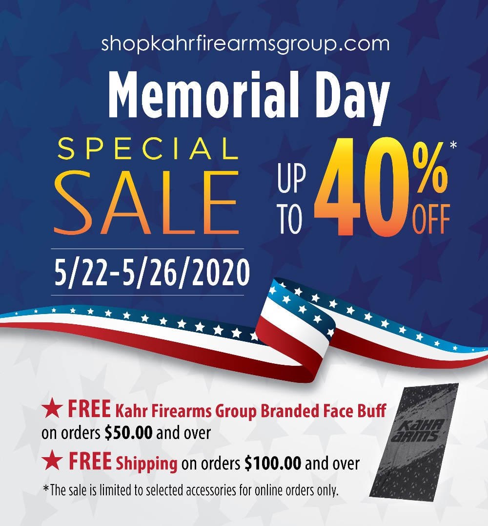 Memorial Day Sale | Up to 40% | 5/22-5/26/2020