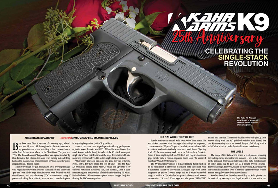 Review – Kahr Arms 25th Anniversary: Celebrating the Single Stack Revolution