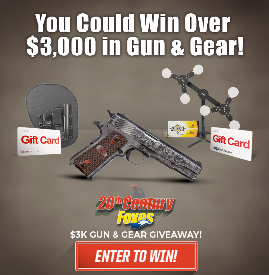 20th Century Foxes $3K Guns and Gear Giveaway!