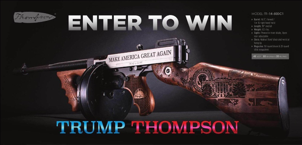 Giveaway Trump Thompson