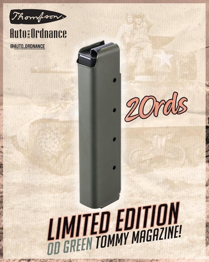 OD Green Thompson 20 Rd Stick Magazine Limited Edition