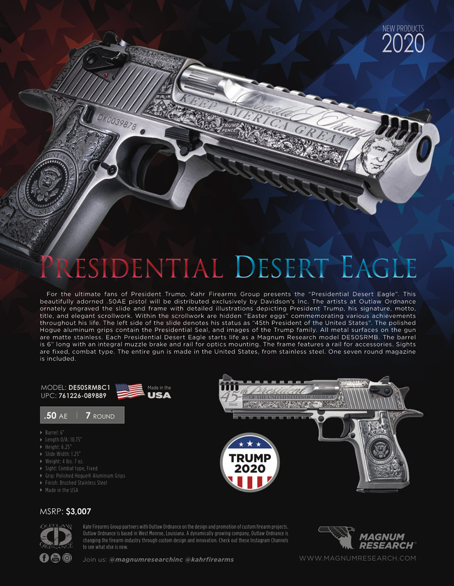 Limited Edition Custom Trump Desert Eagle