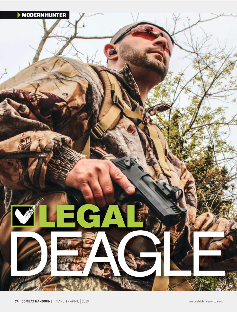 Combat Handguns | LEGAL DEAGLE
