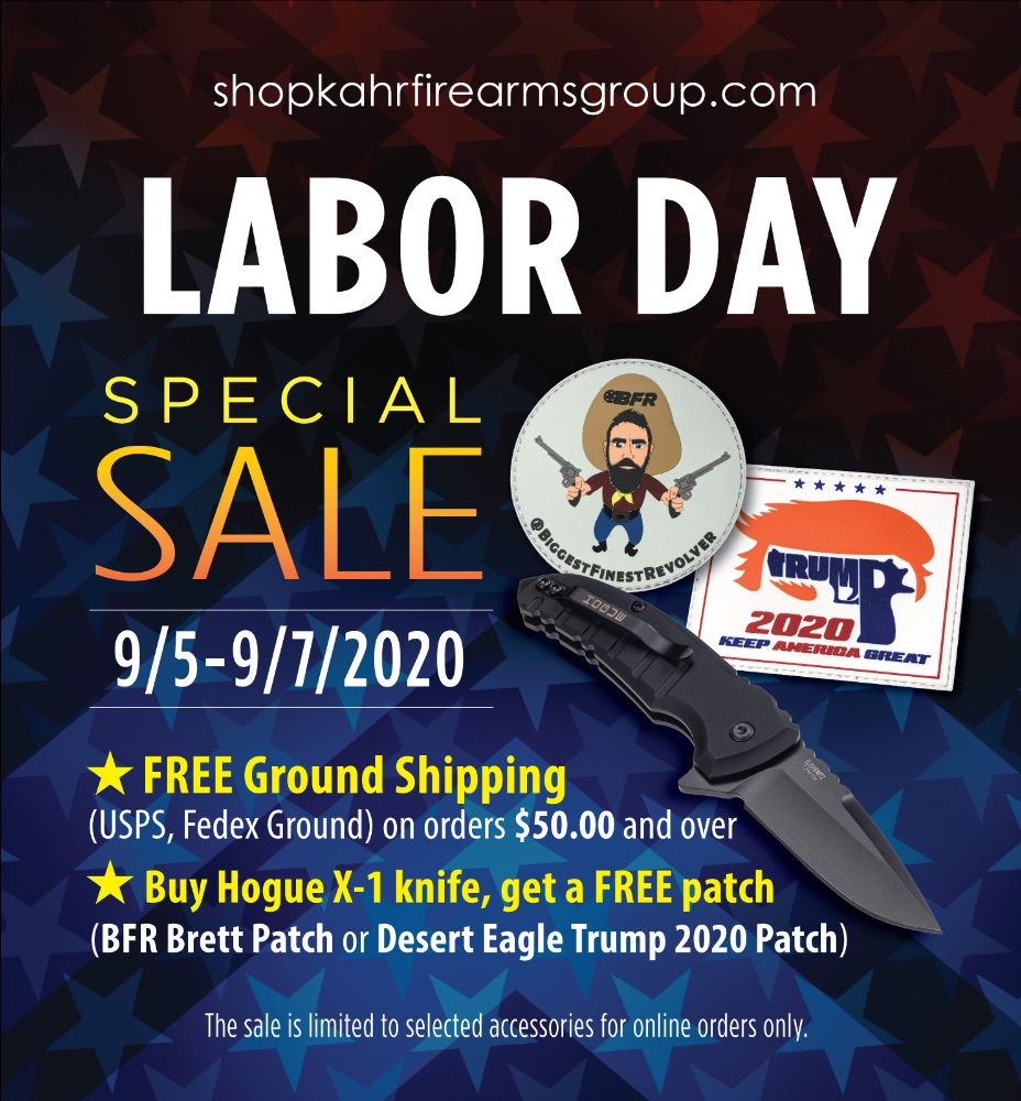 KFG ProShop Labor Day Special Sale!