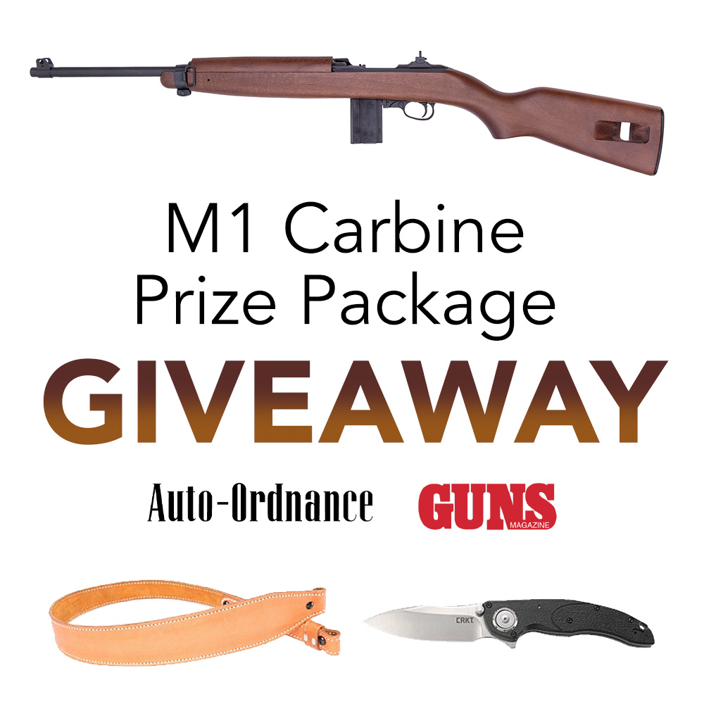 Enter to Win! Auto-Ordnance M1 Carbine Package