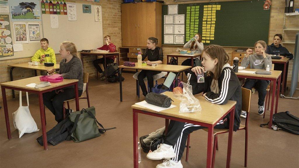 Schools re-opened in Denmark