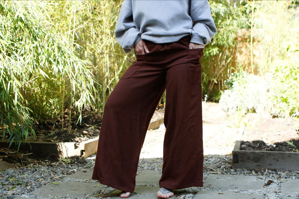 Janet Celeste pants pattern, pic via Chip Bratcher
