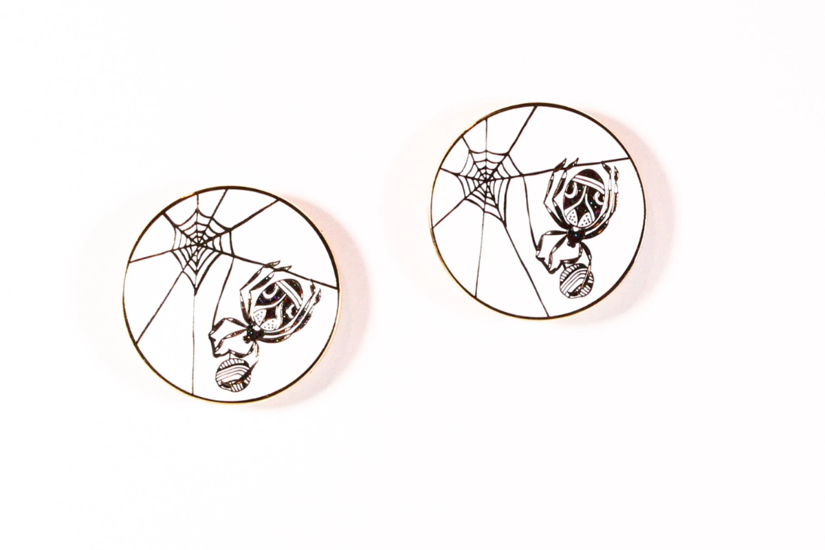Just Like A Spider Enamel Pin