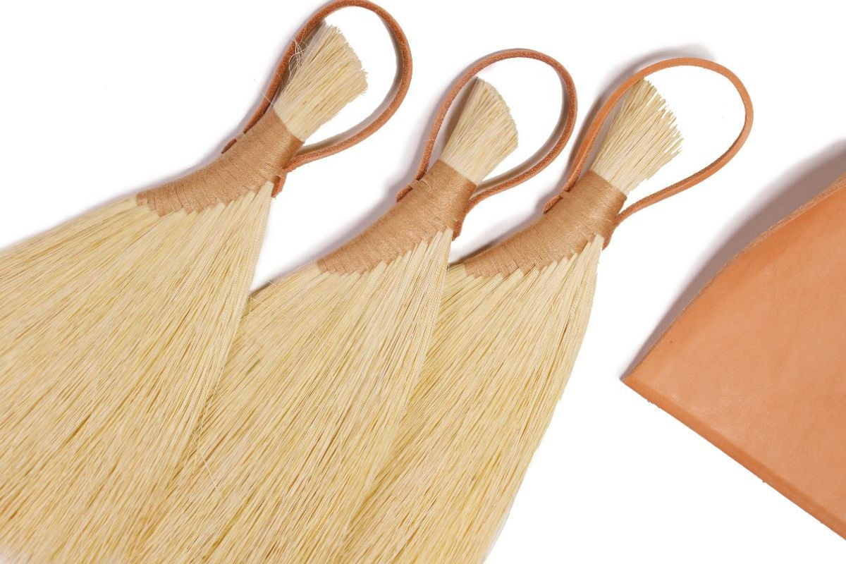 Hand Brooms and Leather Dustpans