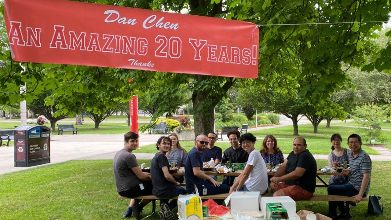 20-year celebration for Dan Chen