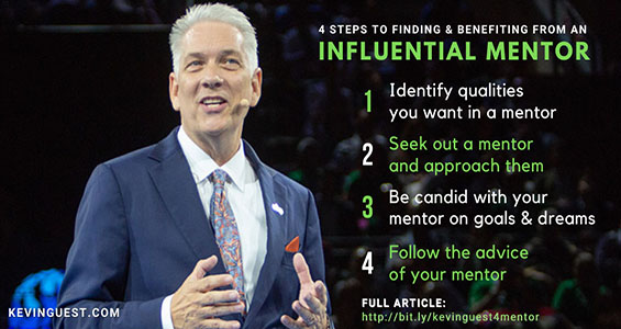 4 Steps to Finding & Benefiting from an Influential Mentor