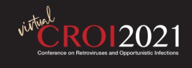 logo for virtual CROI 2021