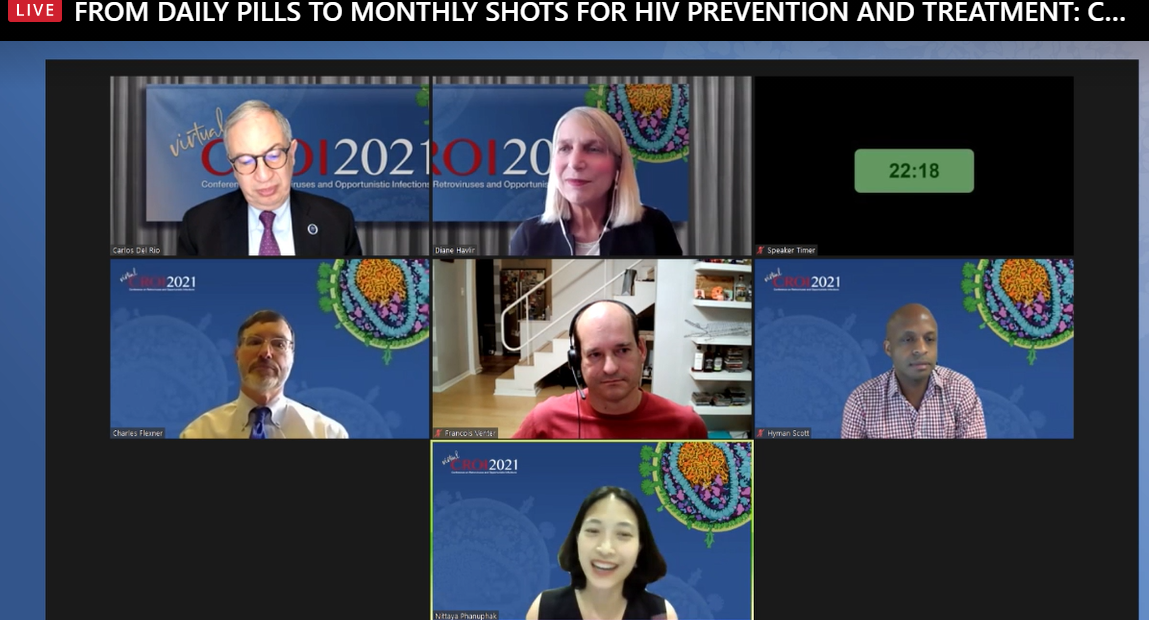 From daily pills to monthly shots for HIV prevention and Treatment