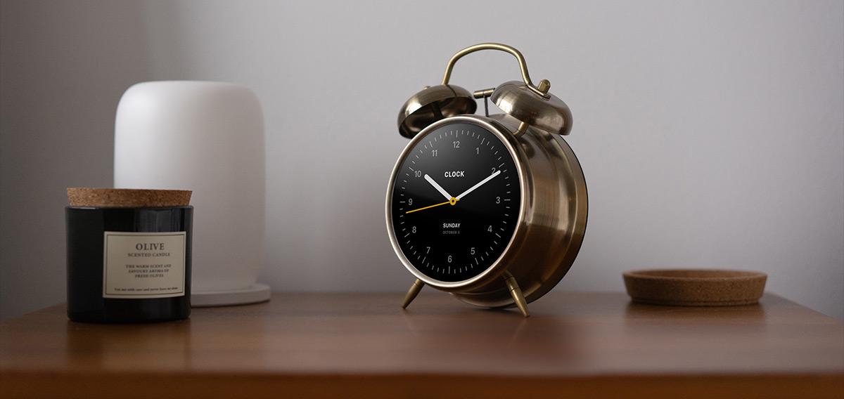 tiden alarm clock