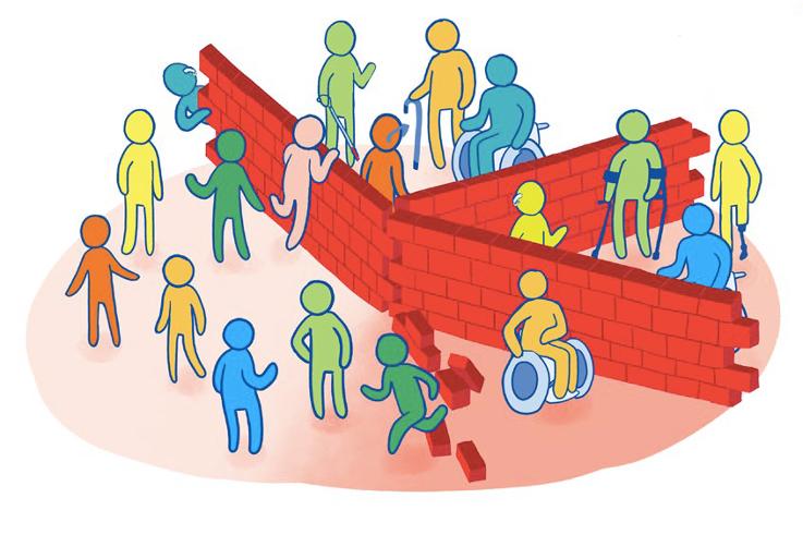 Image: barriers between learners
