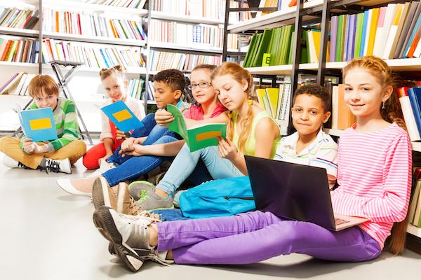 Image: children in classroom