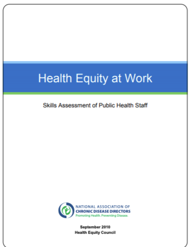 Health Equity At Work Assessment Document