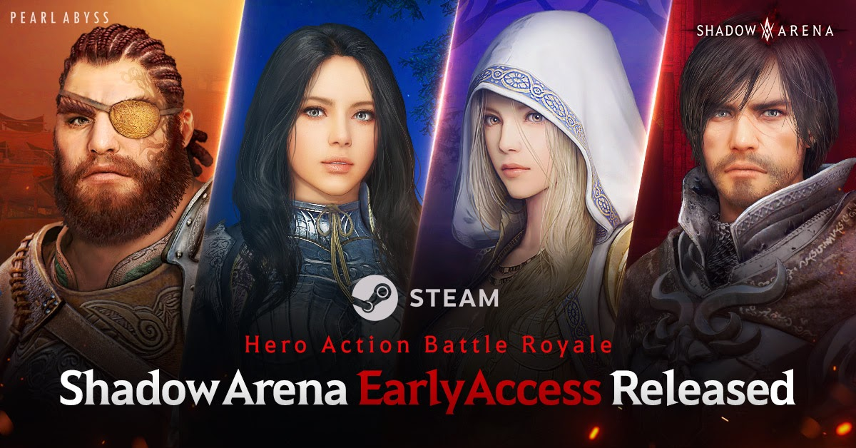 Shadow Arena Available Now on Steam Early Access