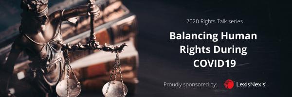 Balancing Human Rights During COVID19 banner