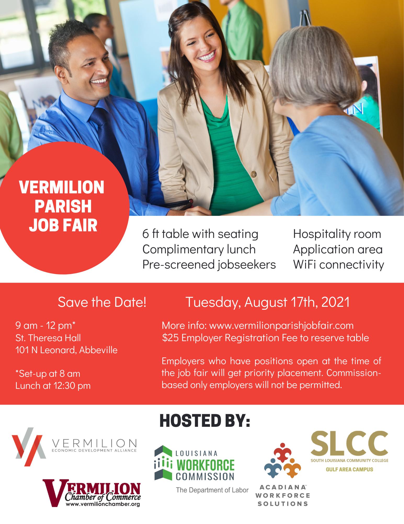 Vermilion Parish Job Fair
