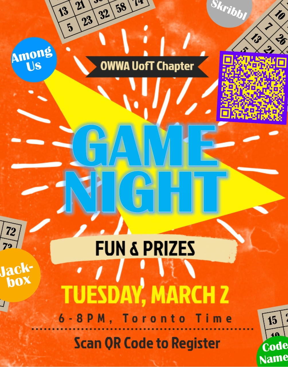 OWWA's Virtual Games Night